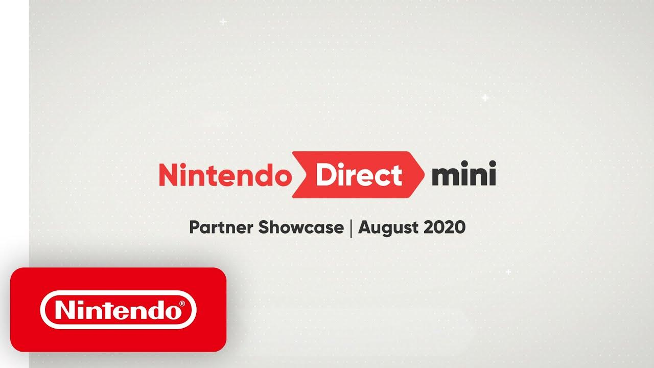 Nintendo Mini Direct August banner