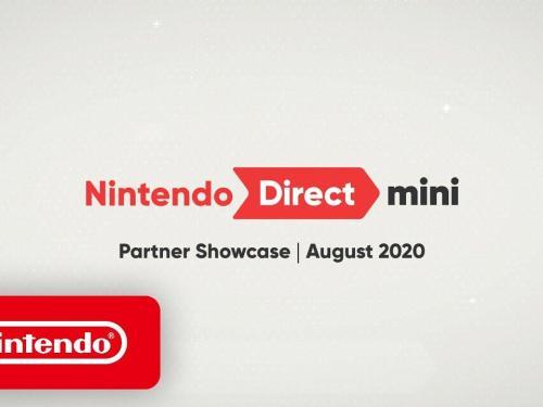Nintendo Mini Direct August banner