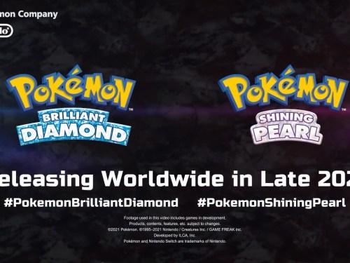 pokemon brilliant diamond και shining pearl