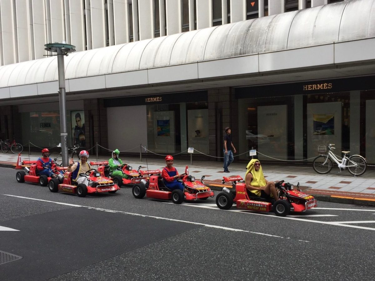 Japan Welcomes You Unless You Are a Mario Kart Driving Gaijin