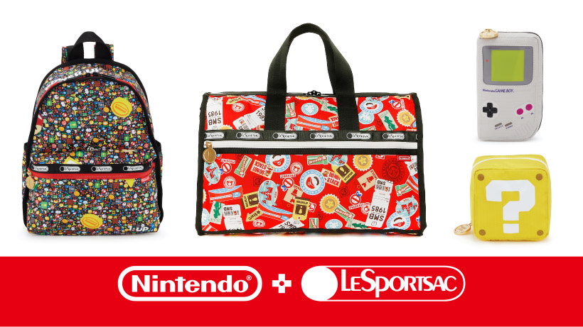 Nintendo X LeSportsac Now Available In More Asian Countries
