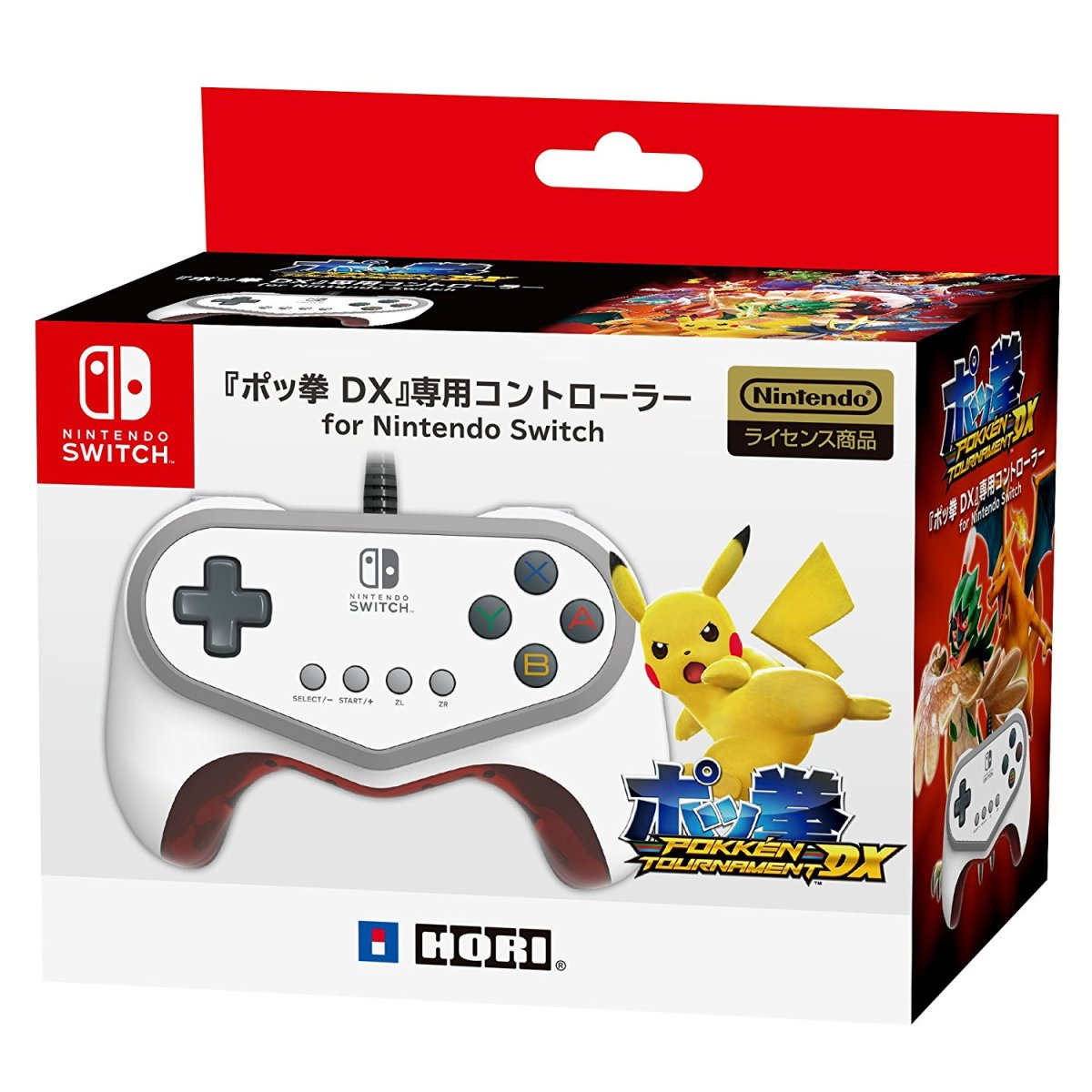 Japan: HORI Pokken Tournament DX Switch Controller Out On September 22