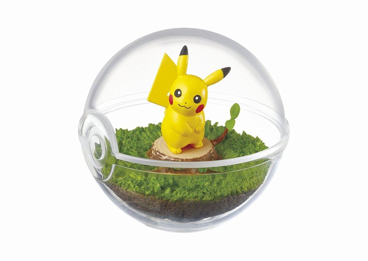 Check Out This Pretty Cool Looking PokeBall Terrarium