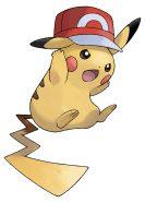 Ashs Pikachu Kalos Hat SM