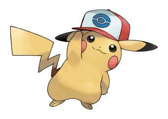 Ashs Pikachu Unova Hat SM