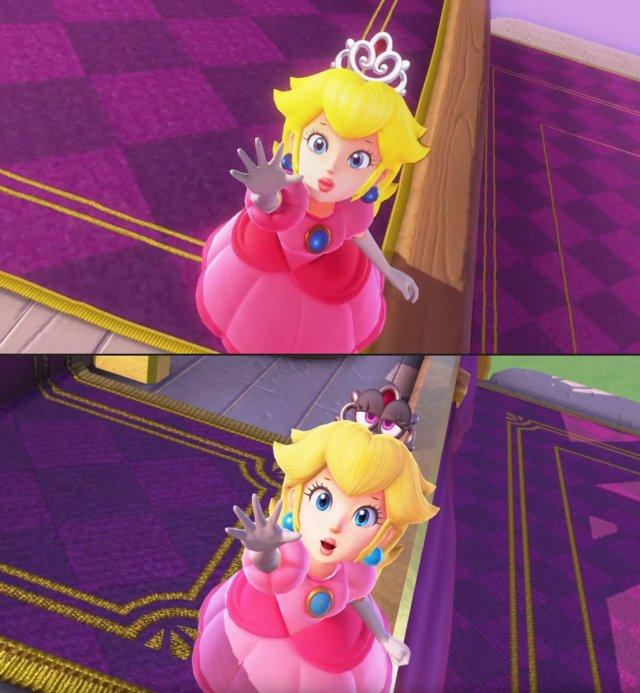 Super Mario Odyssey Receives A Visual Upgrade Nintendosoup