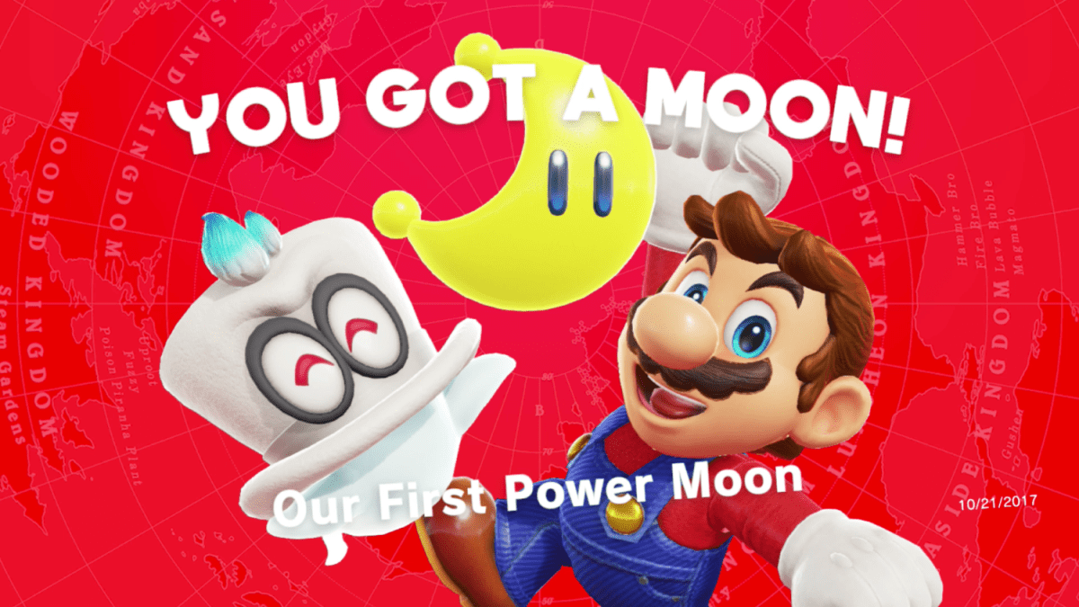 List Of All Kingdoms And Power Moons In Super Mario Odyssey