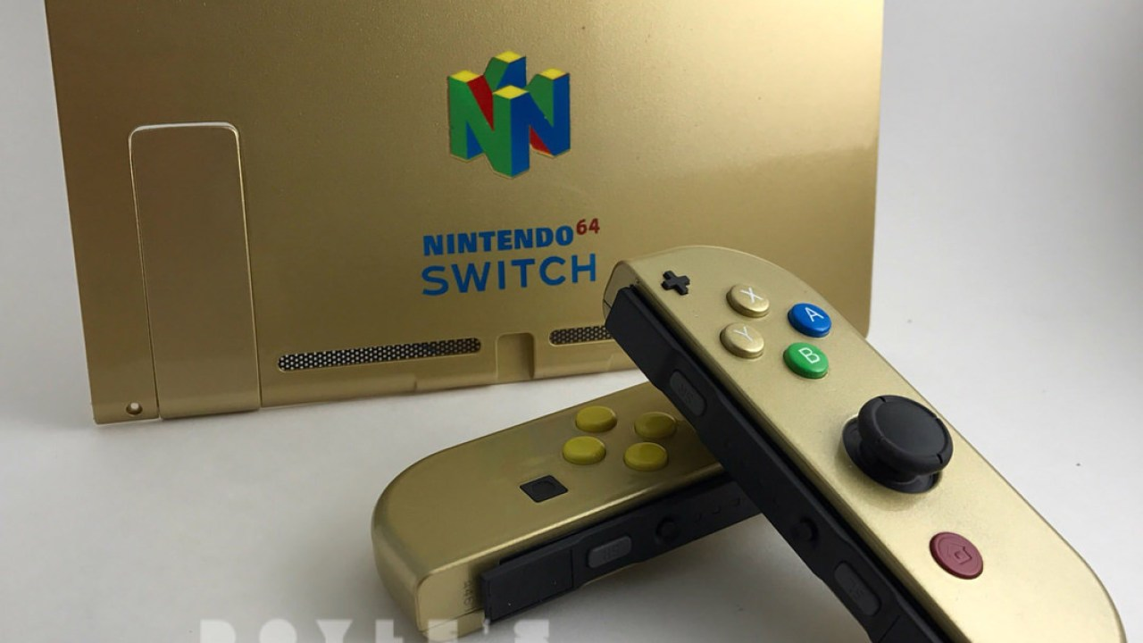 Custom N64 Nintendo Switch Mods Look Mighty Awesome Nintendosoup