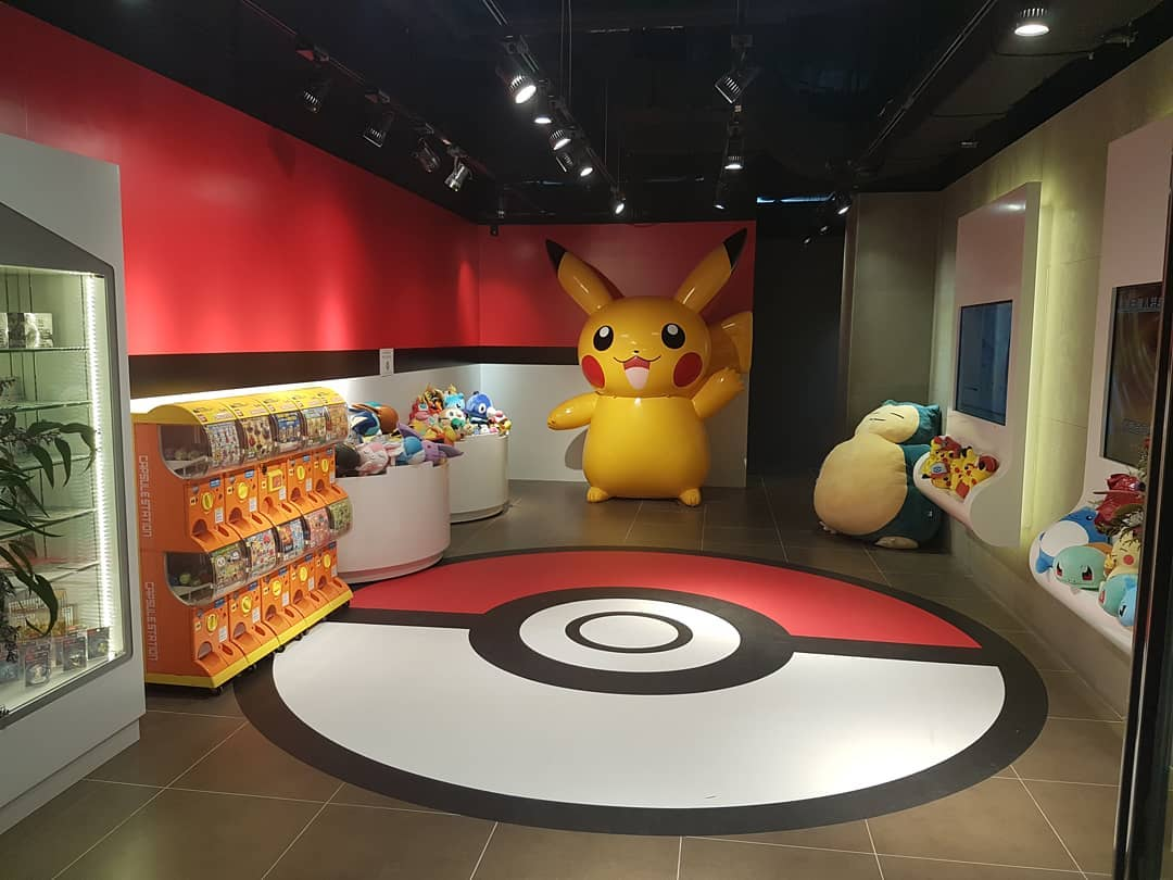 Hong Kong's Official Pokemon Store Has Opened And It Looks Incredible
