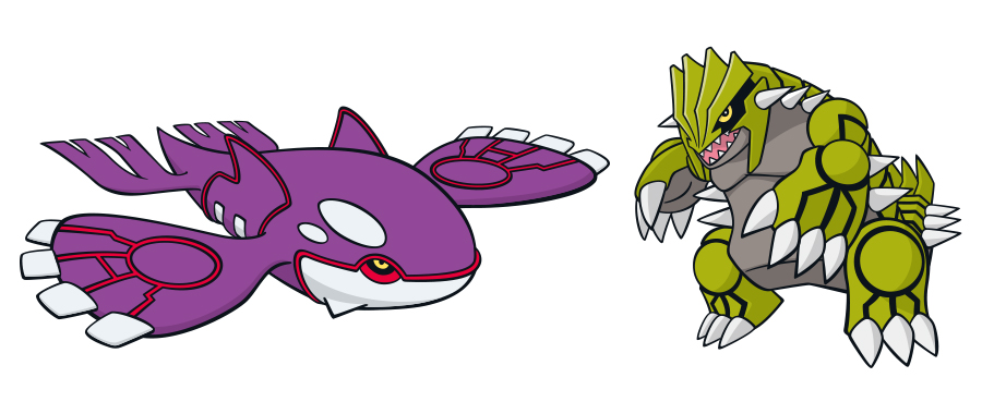 Get Your Shiny Groudon And Shiny Kyogre From Amazon Japan