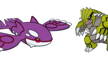Get Your Shiny Groudon And Shiny Kyogre From Amazon Japan Nintendosoup