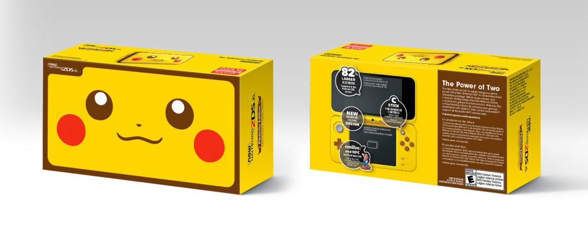 New Nintendo 2DS XL Pikachu Edition Up For Pre-Order On Amazon