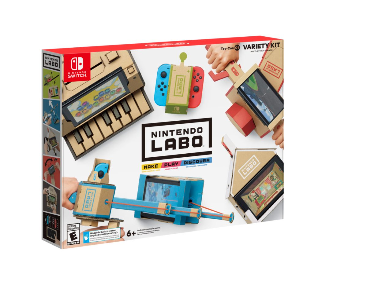 Nintendo Will Not Provide Labo Cardboard Patterns For Free