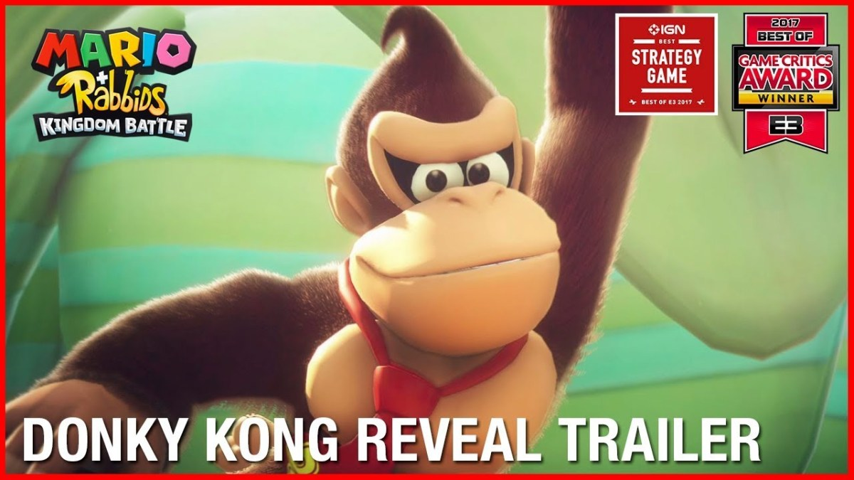 Mario + Rabbids Gold Edition Coming To Retail, Donkey Kong DLC By End June