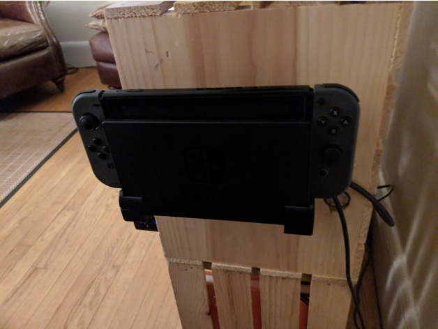 Mount Your Nintendo Switch Dock Onto The Wall