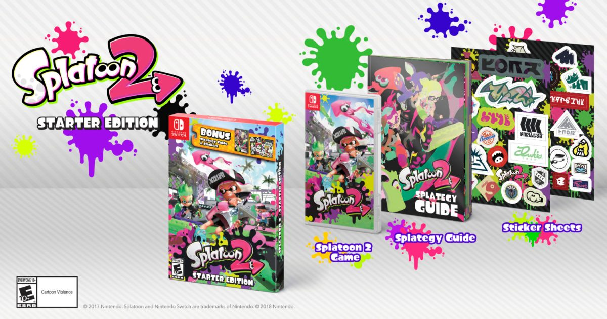 Splatoon 2 Starter Edition Has A One Time Production Run