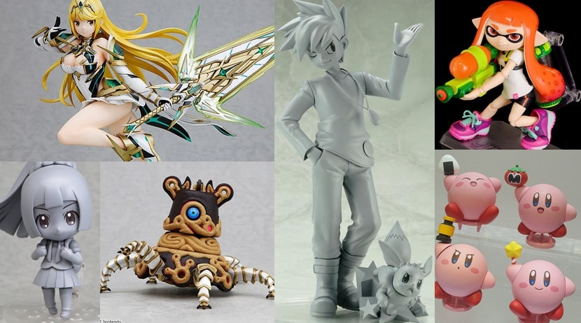 Pokemon, Splatoon, Xenoblade, And More Figures Announced At Wonder Festival 2018 Winter
