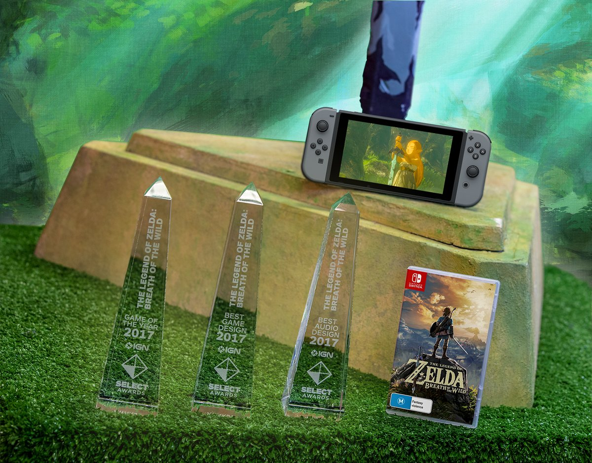 Zelda Breath Of The Wild Takes Home 3 Awards From IGN Select Awards