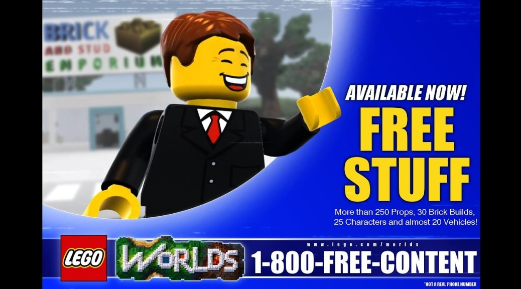 LEGO Worlds Survivor DLC Put On Hold, Brings Free Content And ...