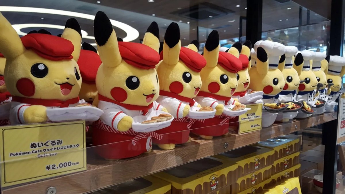 Impressions: Pokemon Cafe And Pokemon Center Tokyo DX