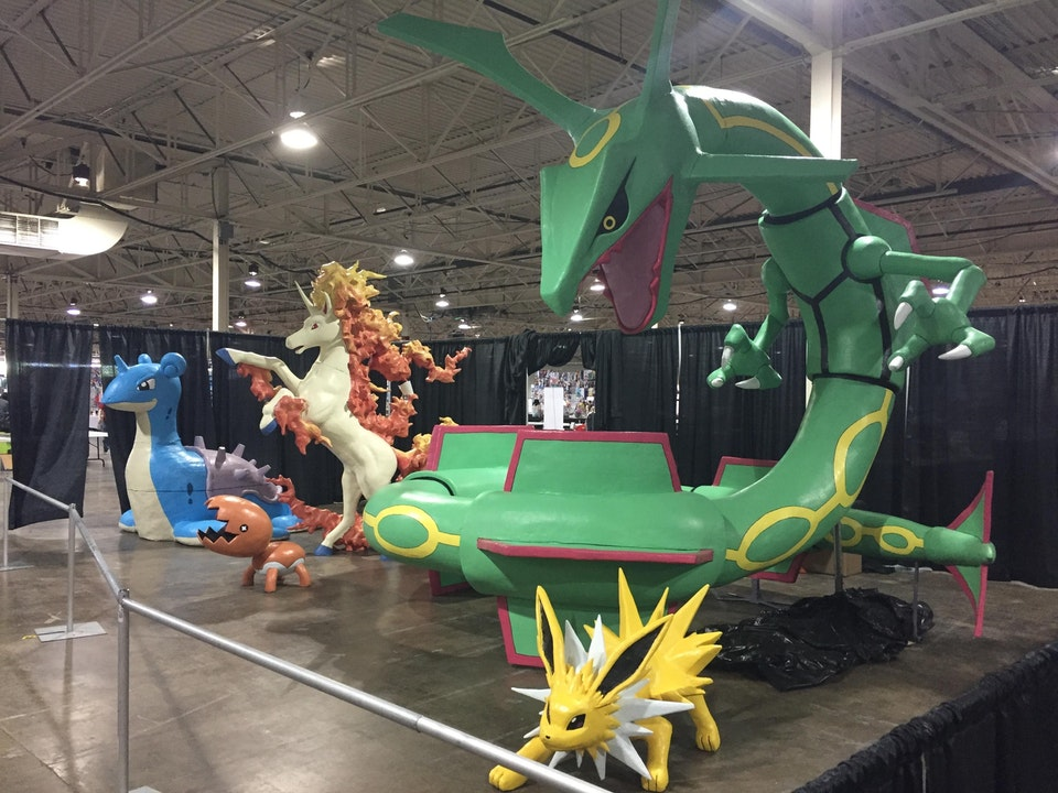 These Life Size Pokemon Statues Were Made By One Dedicated Trainer