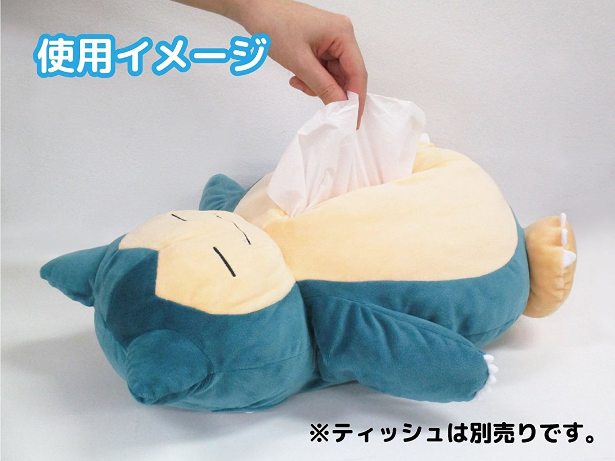 This Snorlax Tissue Box Plush Is So Adorable