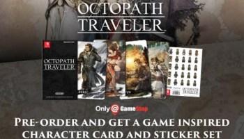 Here's A Look At Octopath Traveler's UK Pre-Order Bonus