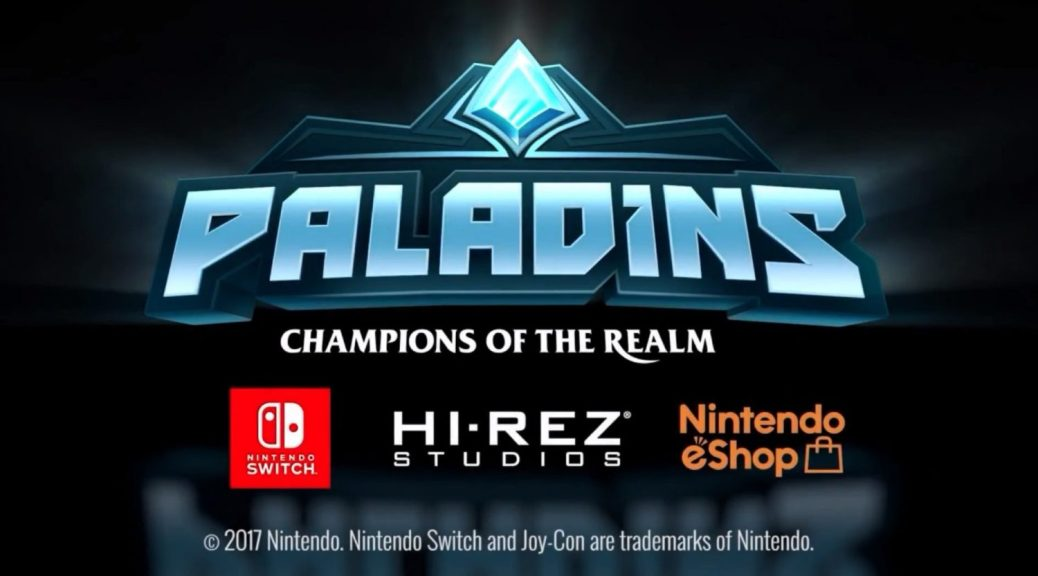 Image result for paladins switch