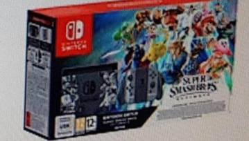 Nintendo Switch Super Smash Bros Ultimate Set Up For Pre Order In