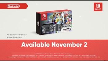 Nintendo Releases Super Smash Bros  Ultimate Battlefield