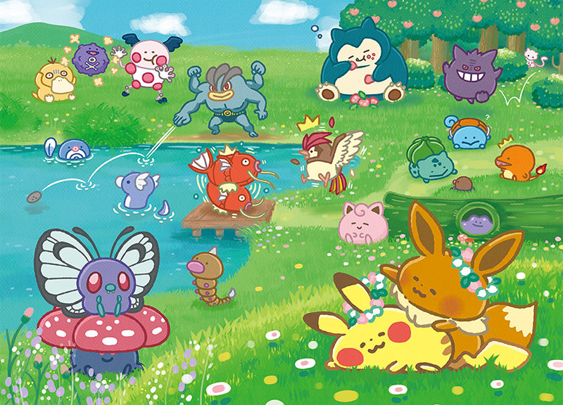 Pokemon And Kanahei Team Up For Second Wave Of Pokemon