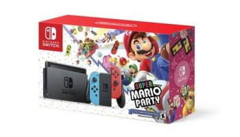 Nintendo Switch Mario Red Joy Con Bundle Now Available At