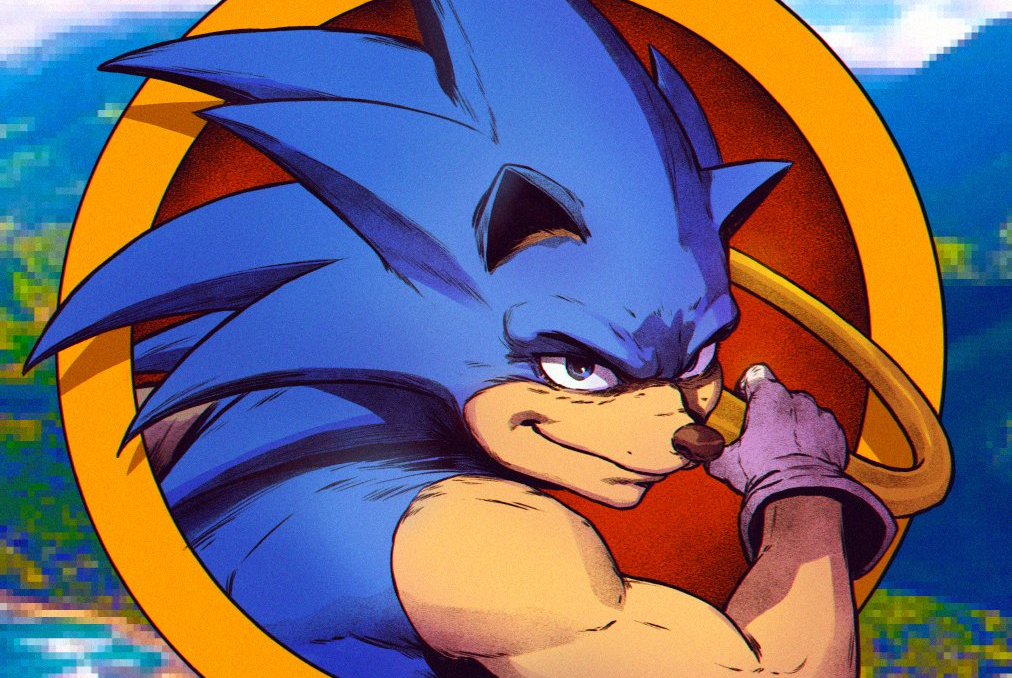 Fan Art How The Movie Version Of Sonic The Hedgehog Could Look