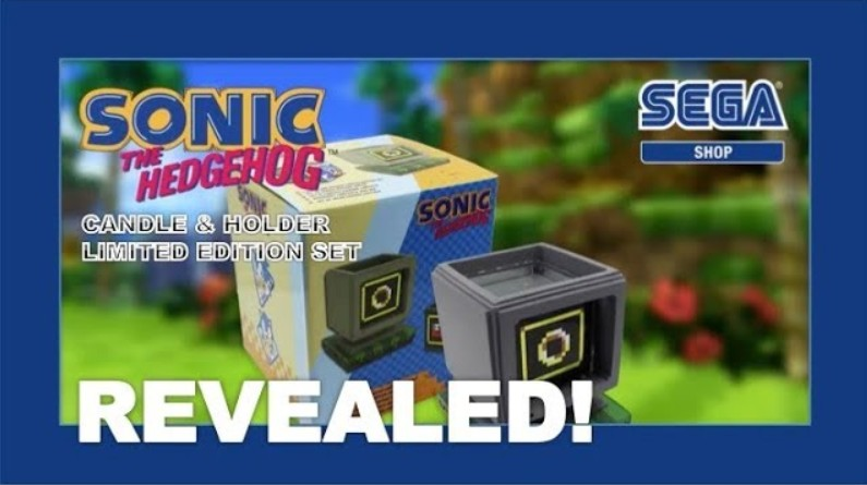 Sega Shop Has Revealed An Official Sonic The Hedgehog Ring Candle Nintendosoup