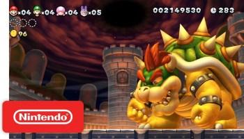 New Super Mario Bros U Deluxe Has Around 101 Unused Levels In Its