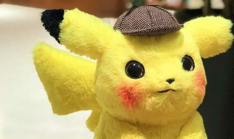 This Detective Pikachu Plush Looks The Closest To The Graphics In