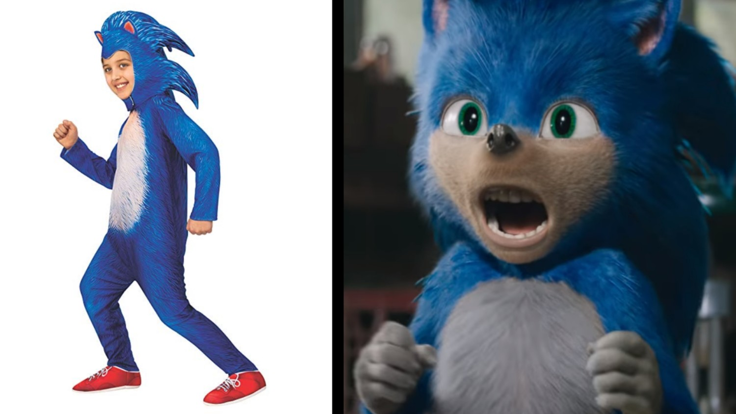 First Merchandise Revealed For The Sonic Movie Is A Creepy Looking Kids Costume Nintendosoup