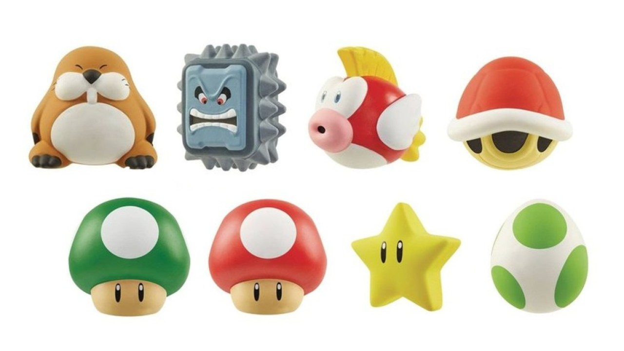 Jakks Pacific Launching New Wave Of Super Mario Squishy Toys