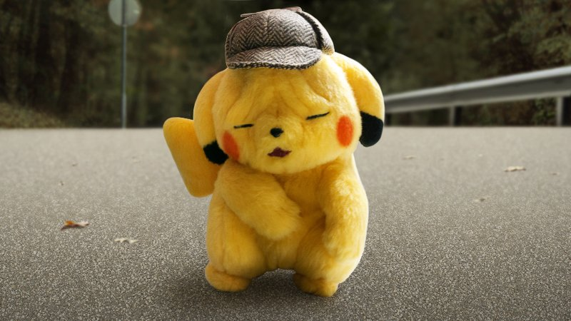 Furrowed Face Detective Pikachu Plush Launches October 30th In