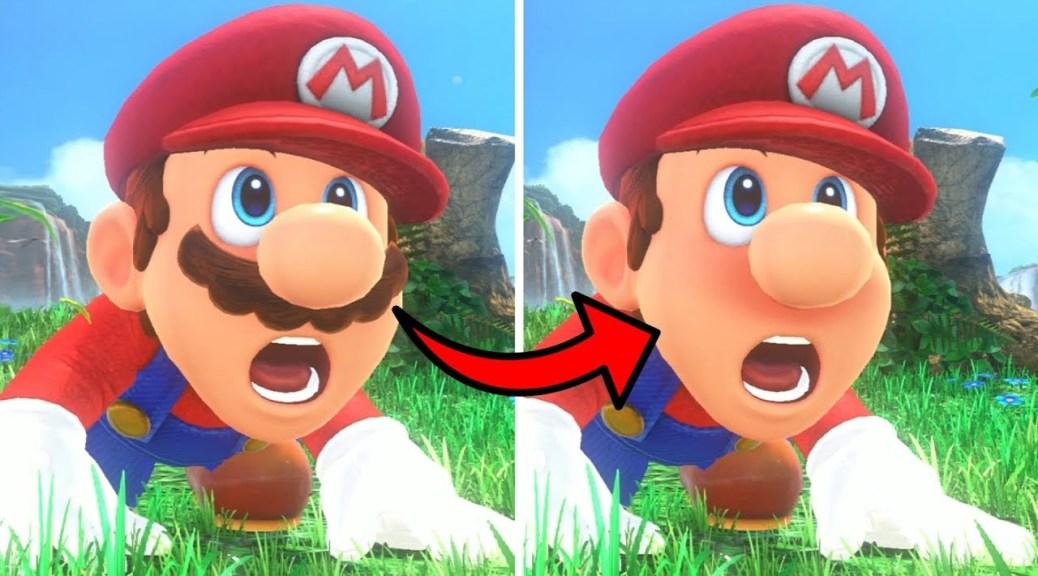 Random Super Mario Odyssey Fan Mod Removes Mario S Iconic