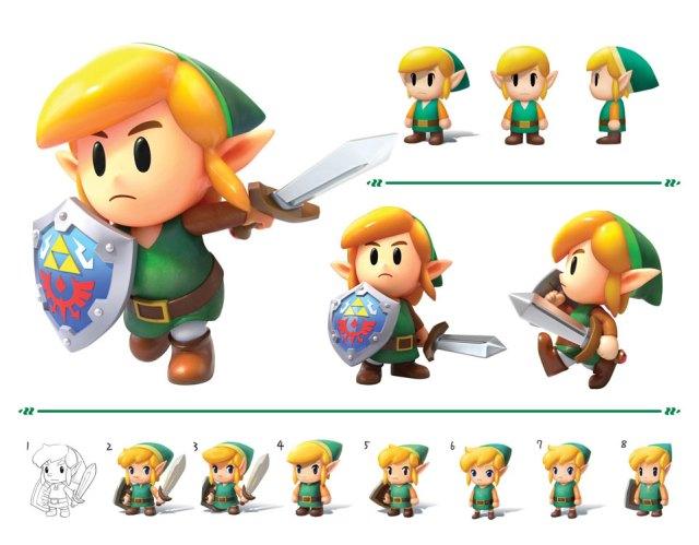 First Unboxing Of The Legend Of Zelda Link S Awakening Artbook Set Nintendosoup