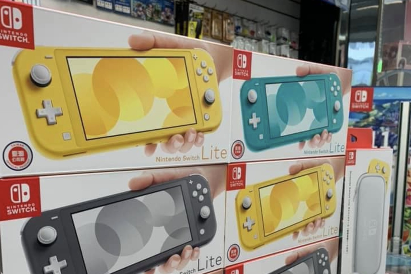 Nintendo Switch Lite Boxes Appear In Taiwan Nintendosoup