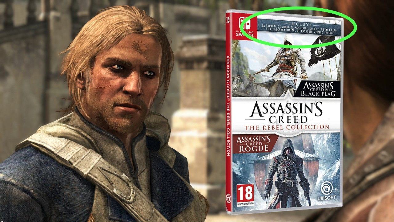 Assassin S Creed The Rebel Collection Spanish Cover States That
