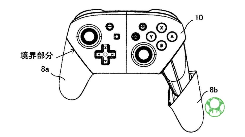 Nintendo Switch Pro Controller Receives A New Patent In