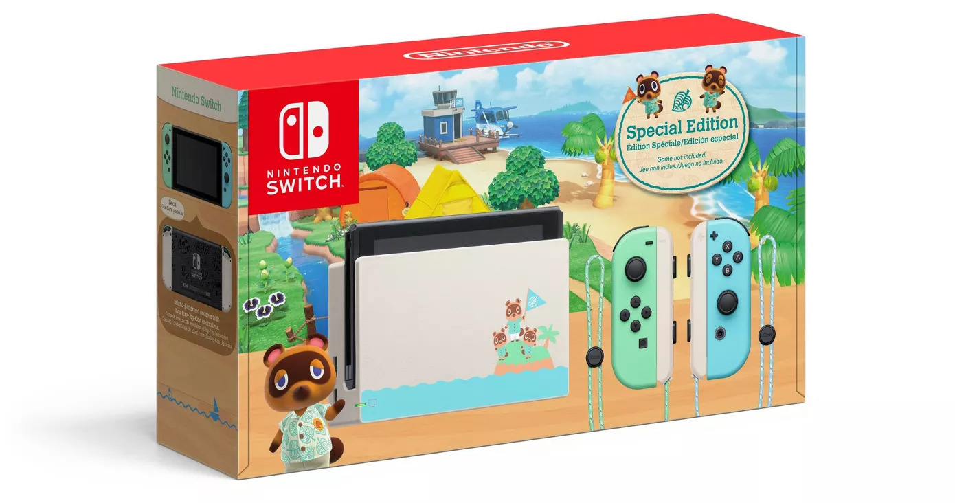 Animal Crossing New Horizons Nintendo Switch Bundle Now Up For