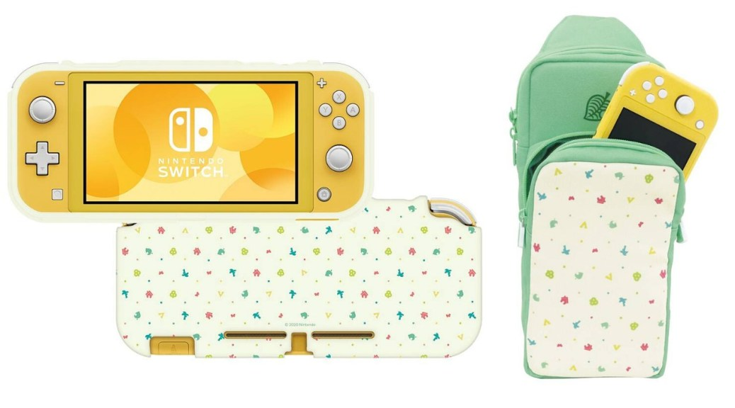 Hori Reveals Animal Crossing Themed Switch And Switch Lite