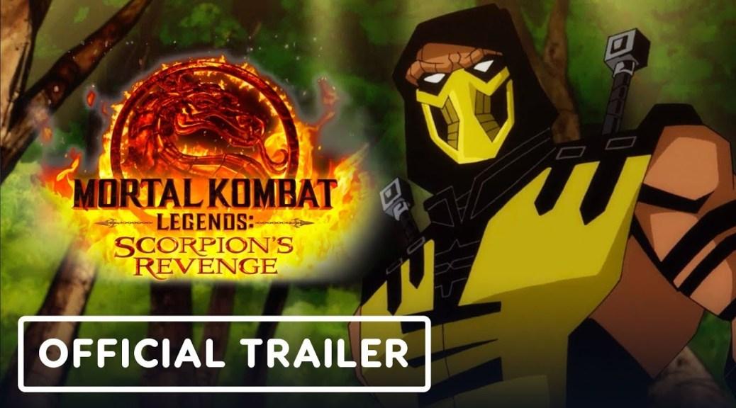 Mortal Kombat Legends Scorpion S Revenge Receives Debut Trailer Set For Launch In Spring 2020 Nintendosoup