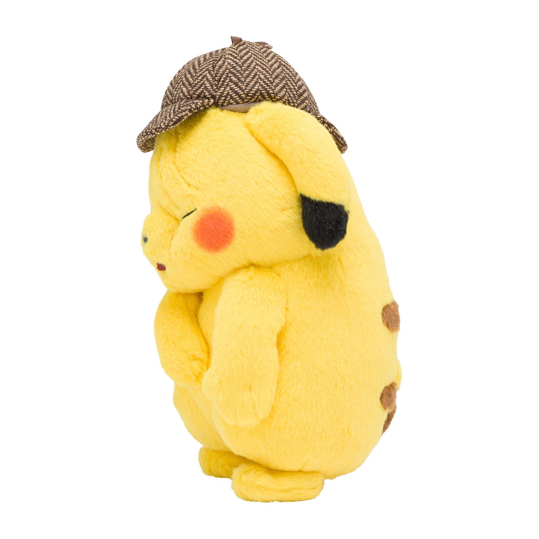 Pokemon Center Wrinkled Face Detective Pikachu Plush Nintendosoup