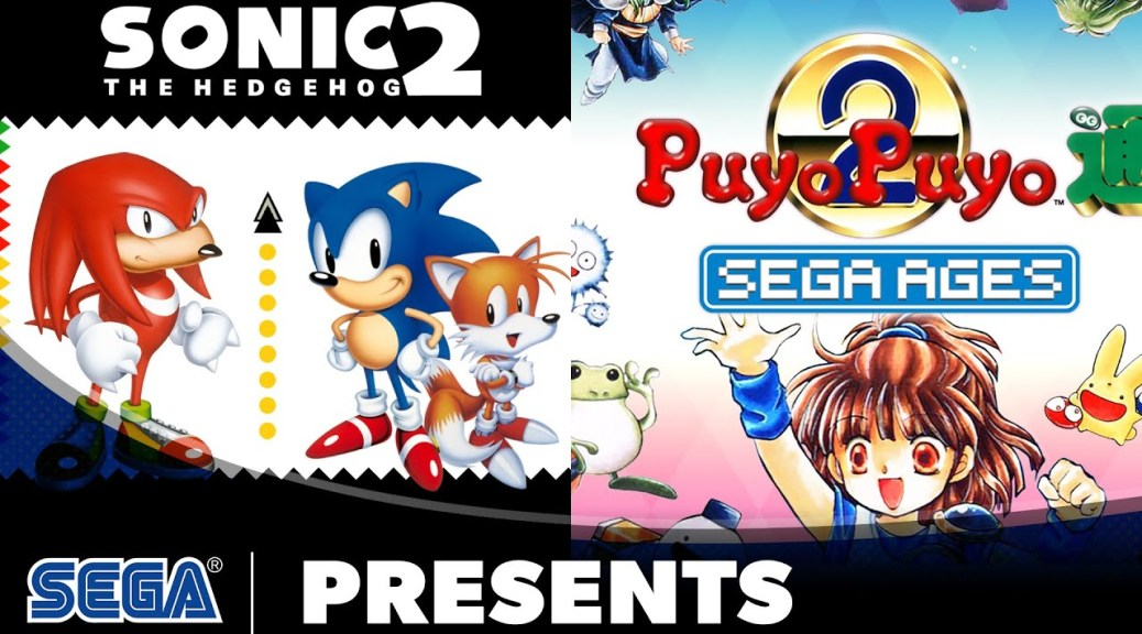 Sega Ages Sonic The Hedgehog 2 And Puyo Puyo 2 Out Now On Nintendo Switch Nintendosoup