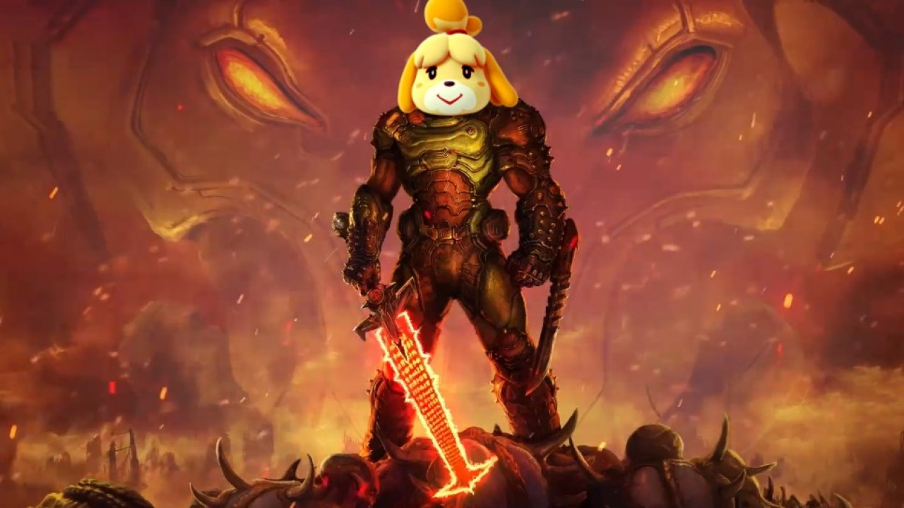 Doom Eternal Executive Producer Talks About Doom Animal Crossing